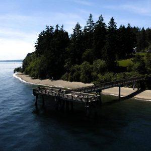 Fox Island pier #3 thumb